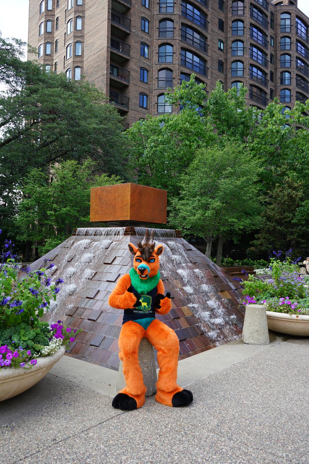 Deer Fountain