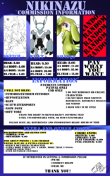 Commission List 2015 [UPDATED]