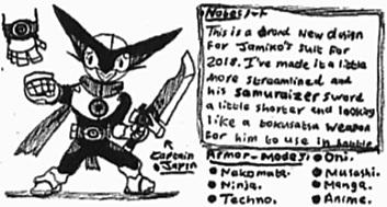 [Captain-Japan] New-Armor design-2018