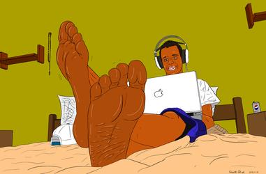 Foot Fetish Artwork 2