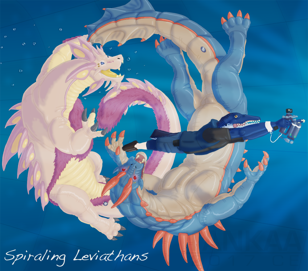 Spiraling Leviathans