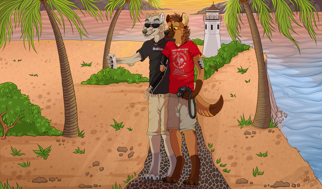 Most recent image: Point Vicente Sunset (commission by Vlcina)