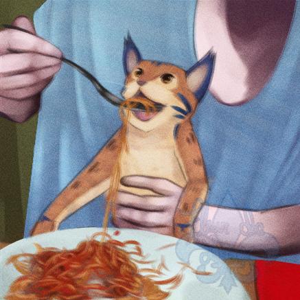 Local Fox Feeds Cat