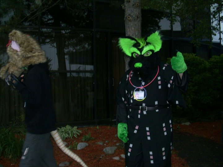 'Nother pic of my Fursuit