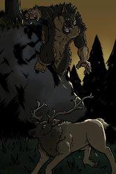 "GRRRR. (""I feel like elk tonight."")"