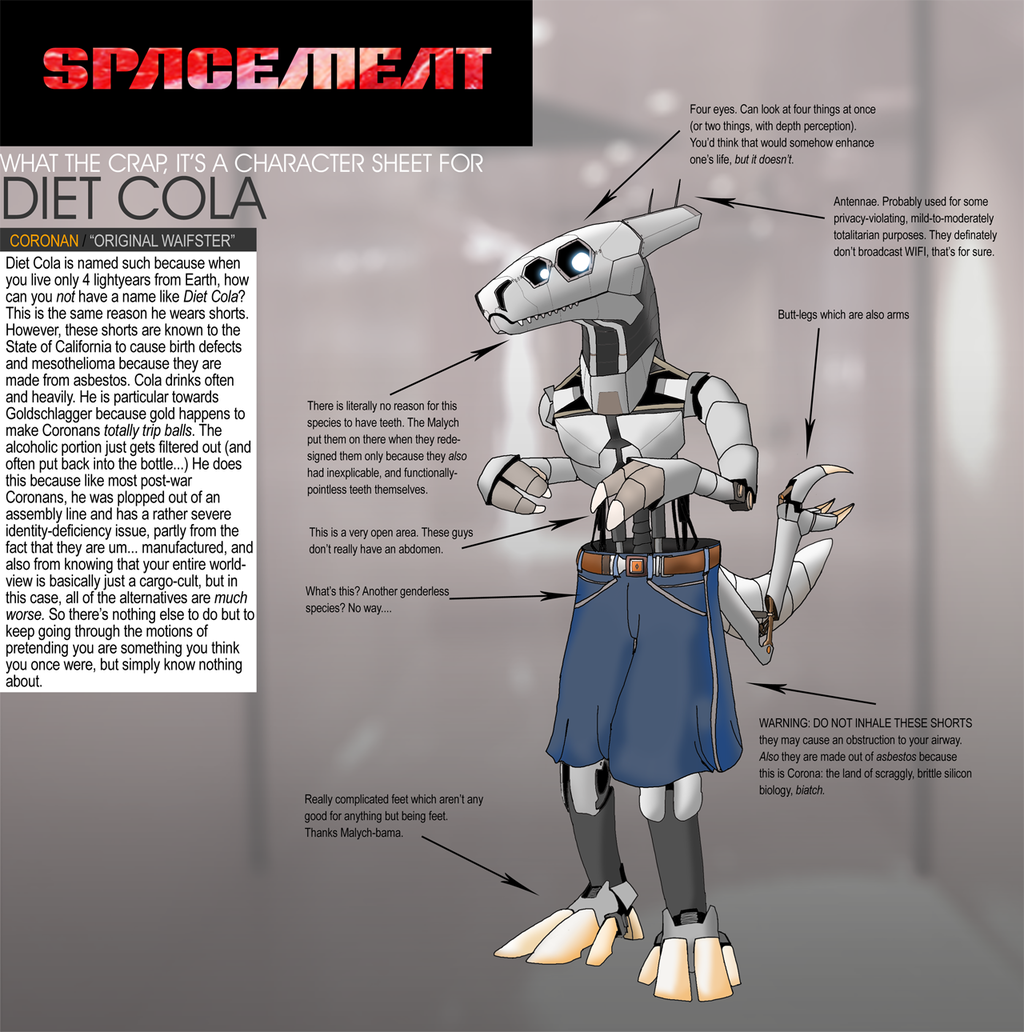 SpaceMeat - Diet Cola