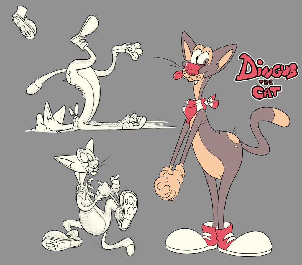 Dingus: now with footwear