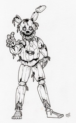 Gold-Binded Killer (uncolored)
