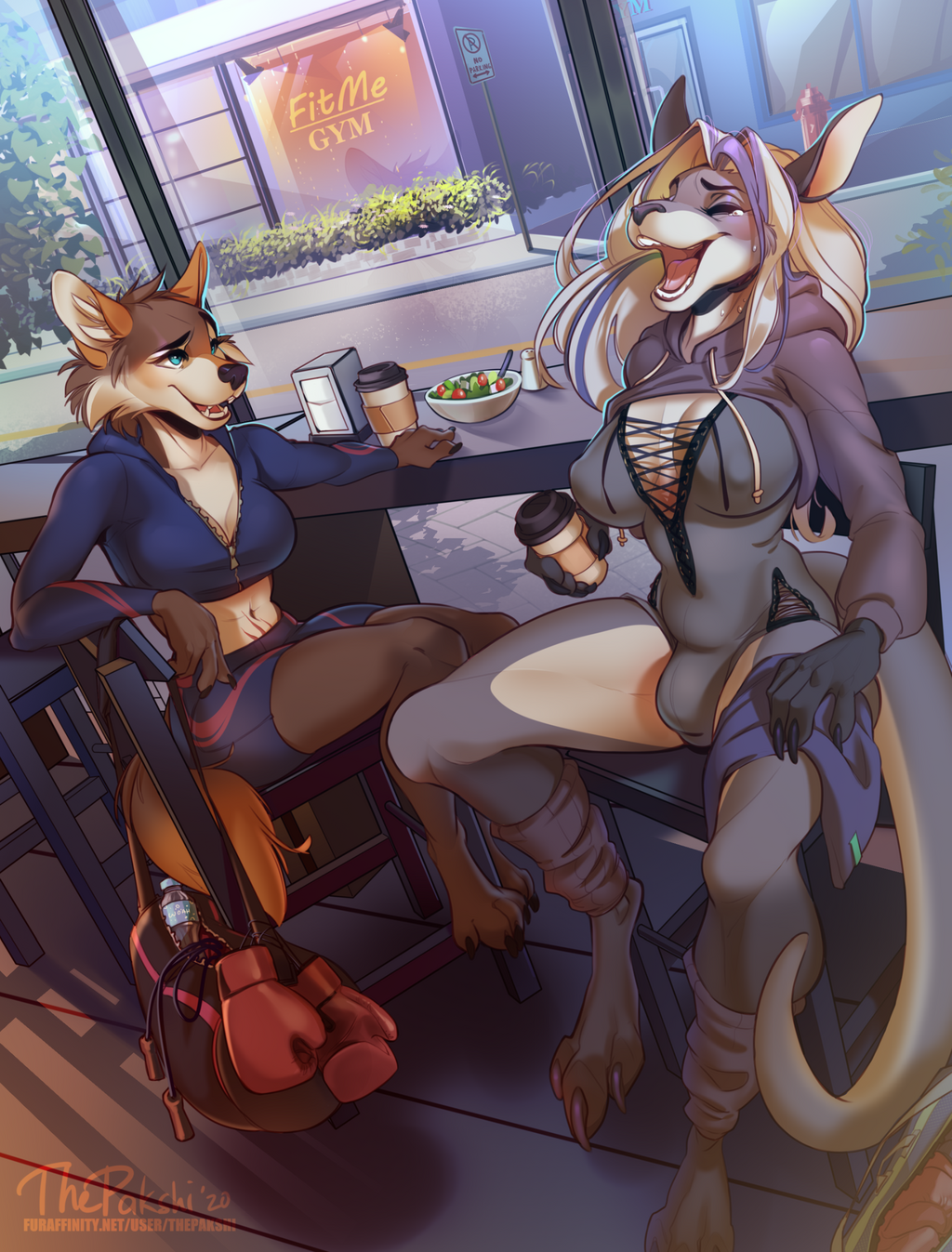 After Workout Bonding - By ThePakshi