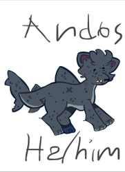 (Not Done by Me) Andos the Cat Bull Shark