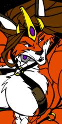 Megadevianttron: Queen Vixena Colored