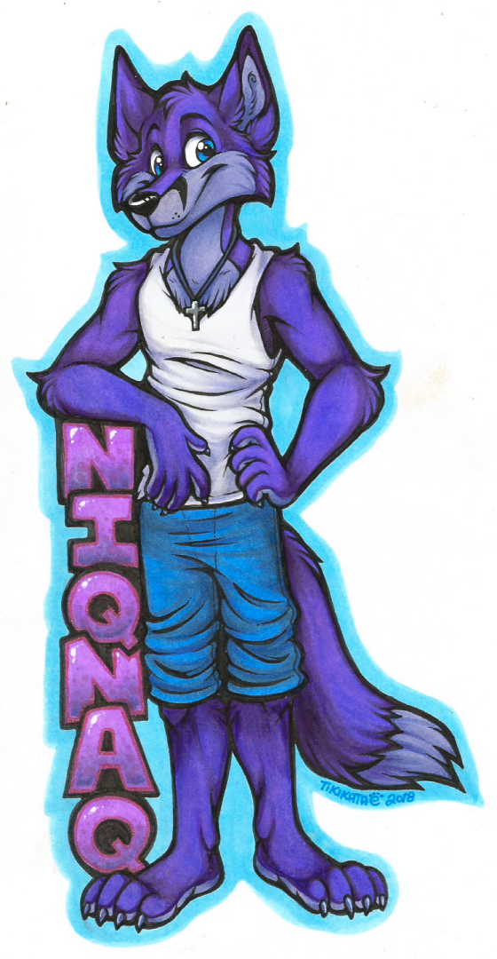 Niqnaq Badge (Commission)