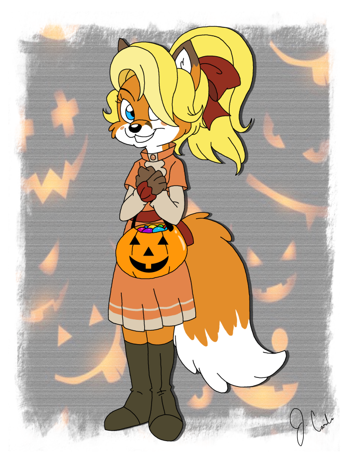 YukiCos - Halloween Commission