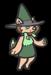 a tiny story witch