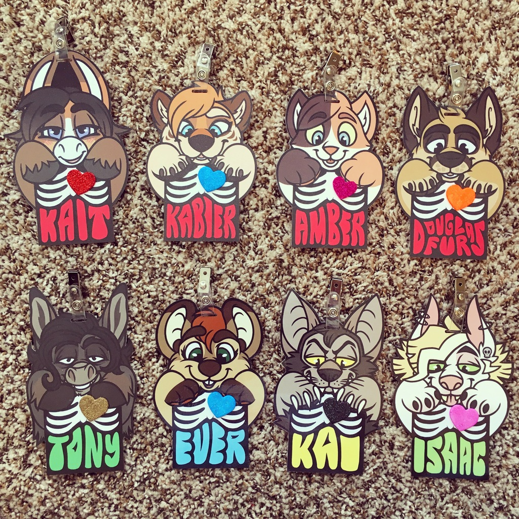 finished x-ray badges batch 5
