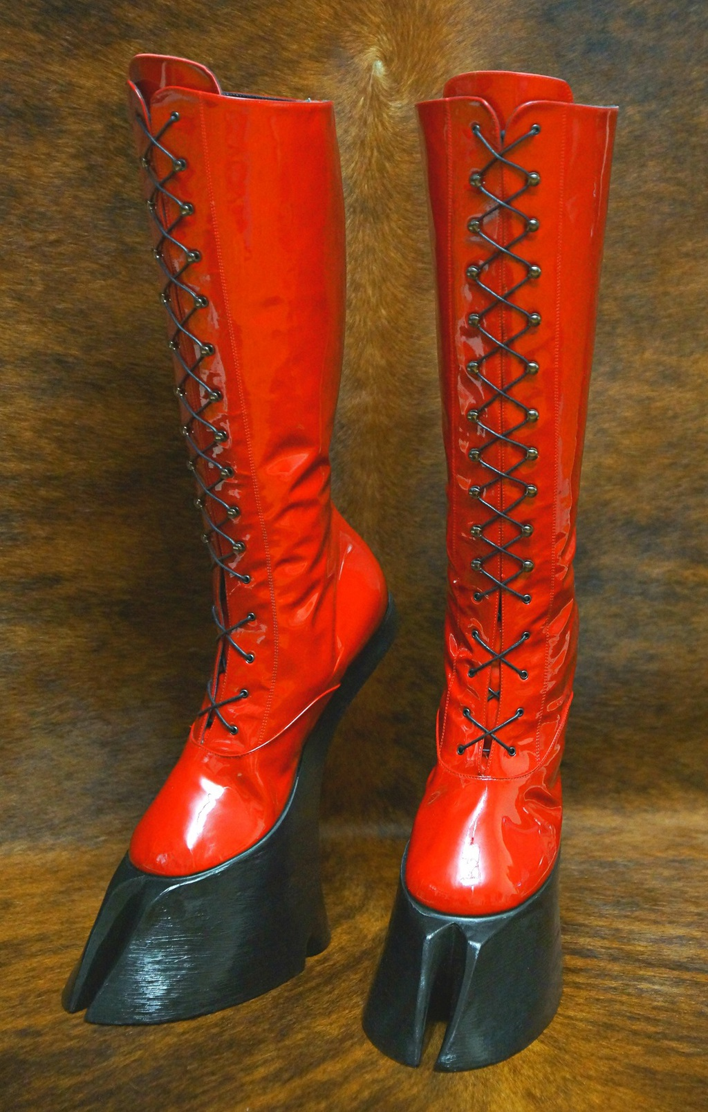 The Succubus boots – with cloven hoofs
