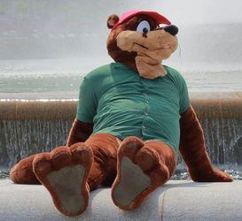 FursuitFriday @ Point State Park - Reggie Otter
