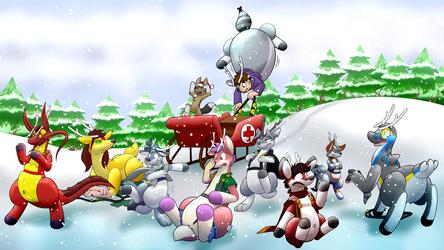 An Inflatodeer Christmas by Jacfox