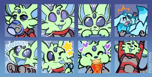 Corgi Emoji Sheet