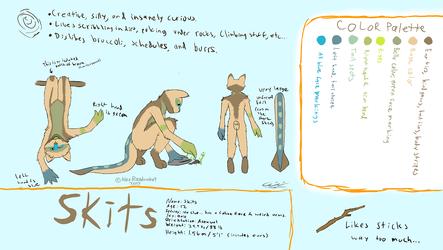 Skits' ref sheet