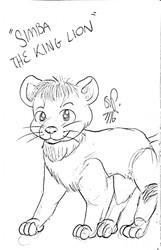 Simba the King Lion (July 2016)