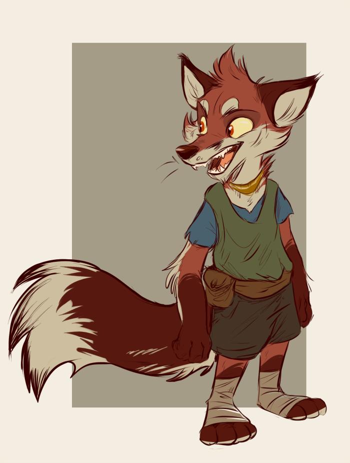 the fox thief