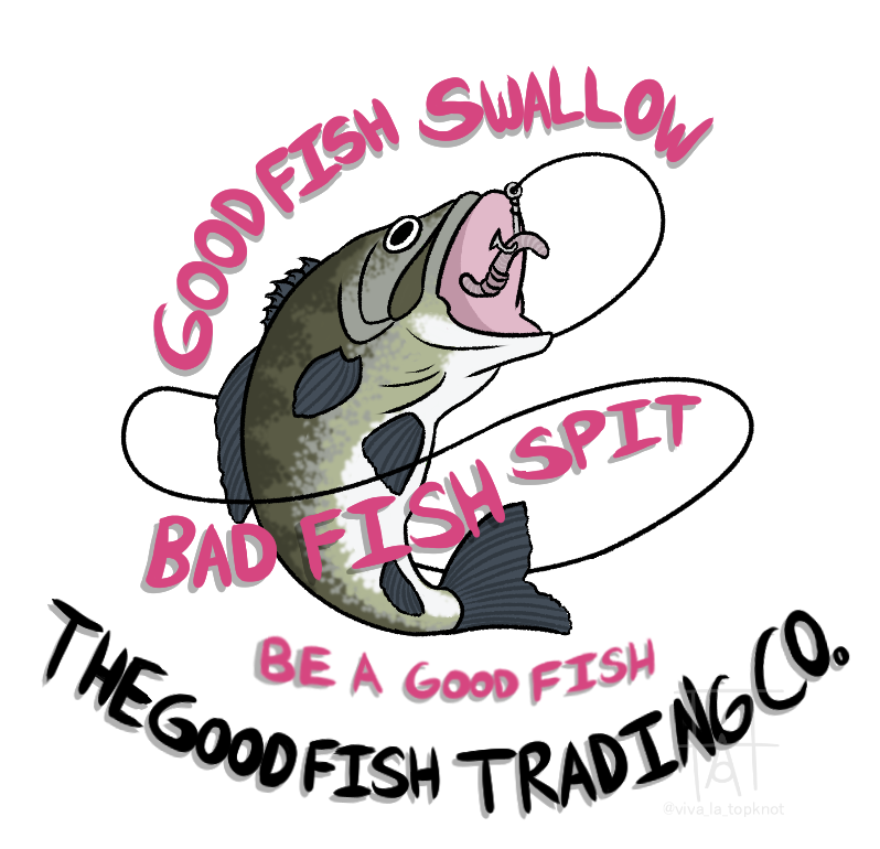 Commission - The Good Fish Trading Co Logo: