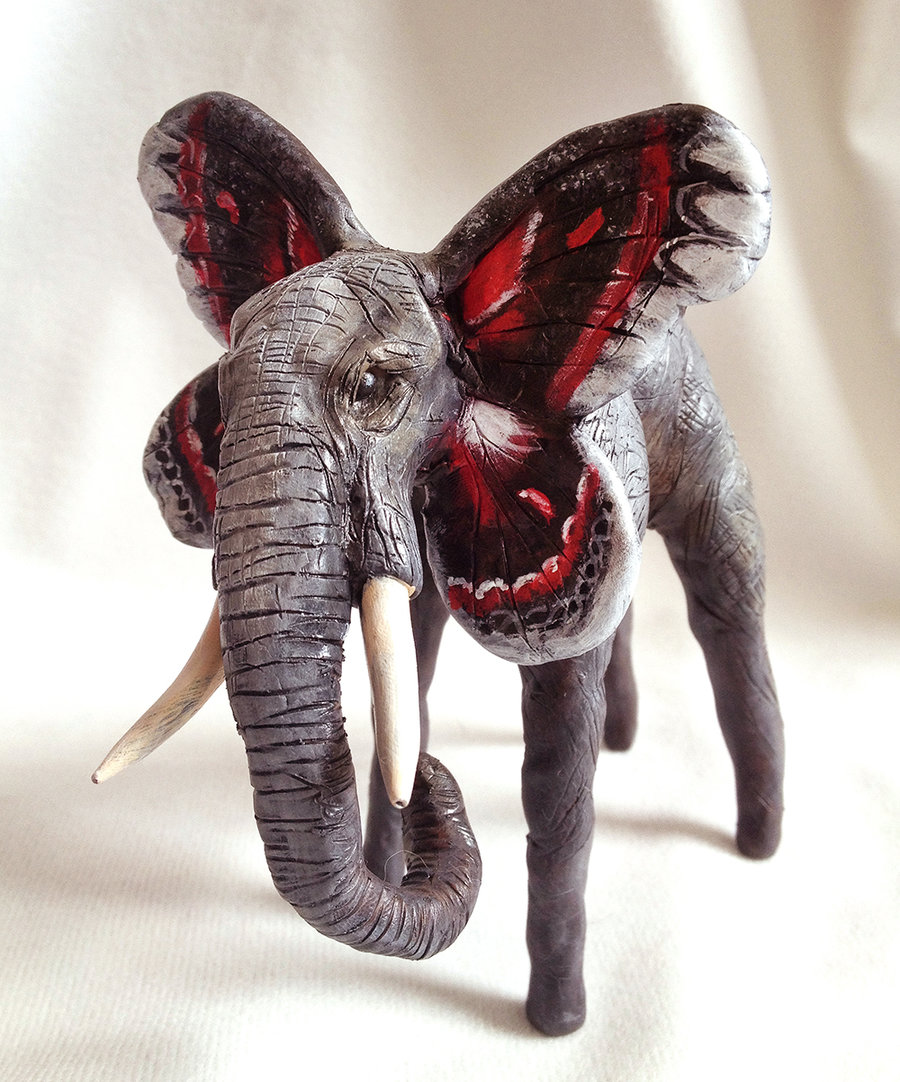Fetherweight - Cecropia Elephant