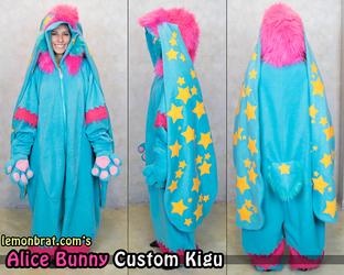 Alice Bunny Custom Kigu