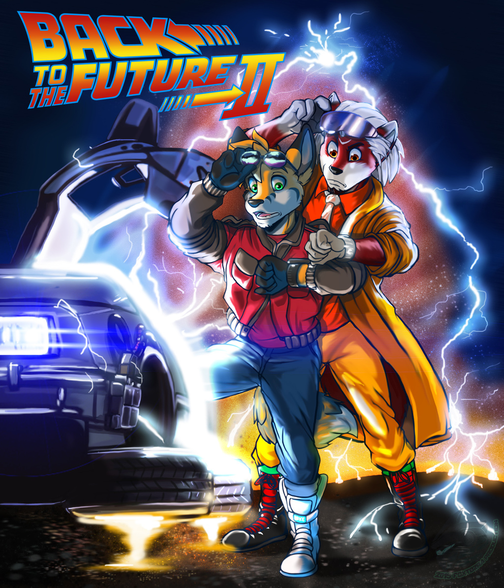 Back to the Future 30th Anniverary (Gift Art)