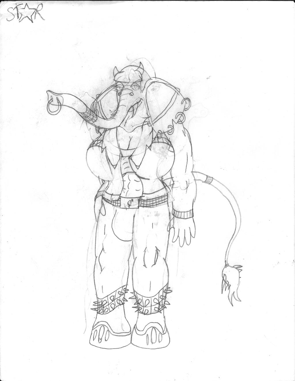 Most recent image: (Sketch) Star