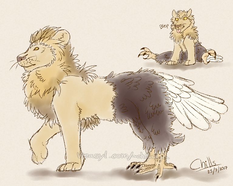 Most recent image: Reverse gryphon