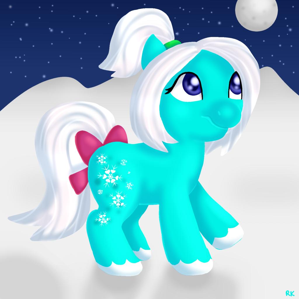 Gift Art: Snowdust Sundae