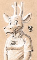 Hwang on tone paper