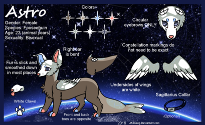 Astro Reference 2016 (Secondary Fursona)
