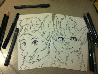 Traditional Lineart