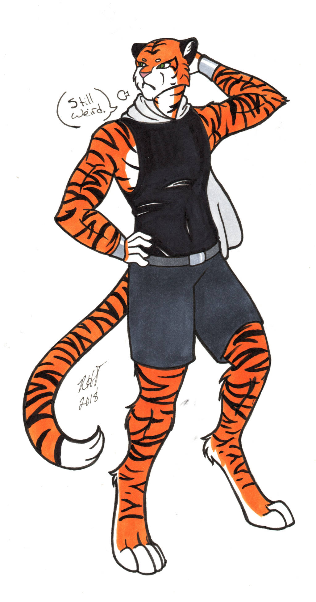 Tall Tiger