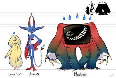 Character design exam