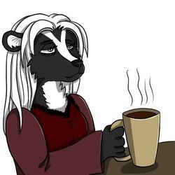 Mistress Twillight Telegram Sticker: NEED COFFEE