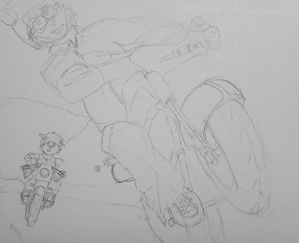 Zeyo Doing A Wheelie