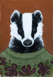badger, it's a badger