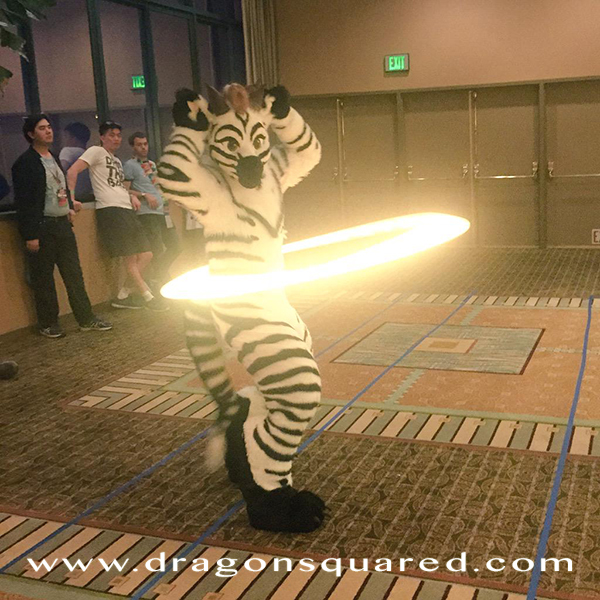 Zebra Dragon at Equestria LA 2015