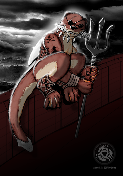Most recent image: Otter pirate