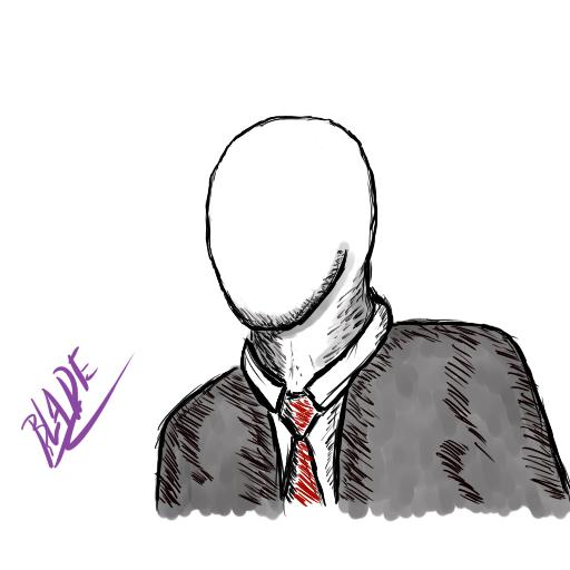 Most recent image: Slenderman sketch