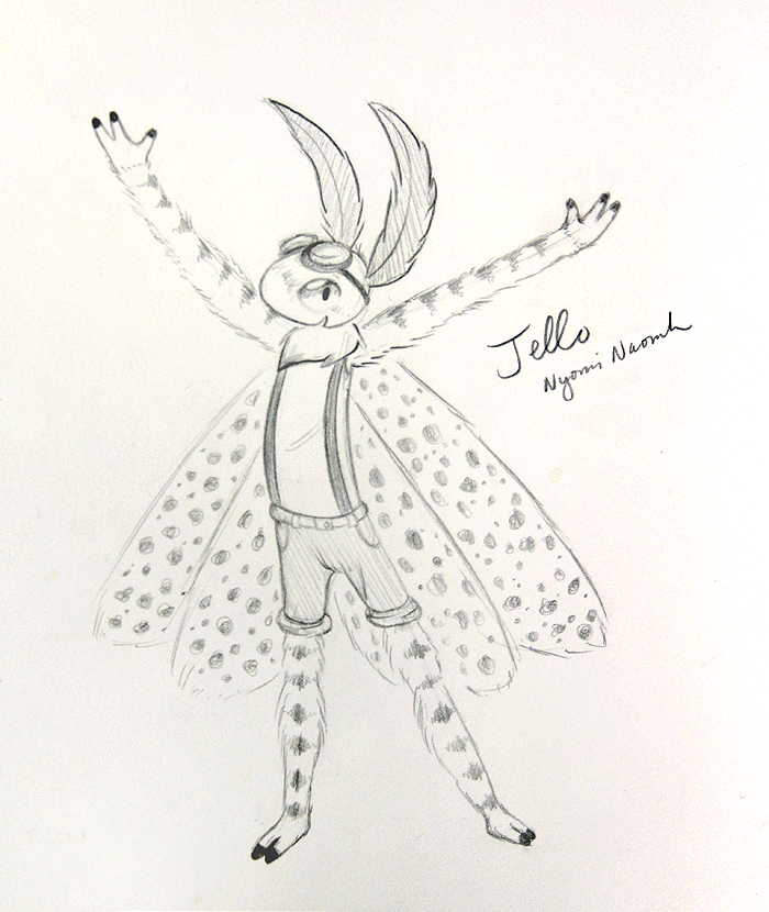 Speckle Pepper Sketch