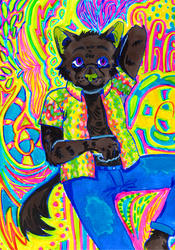 Psychedelic by sewerrat (2020)