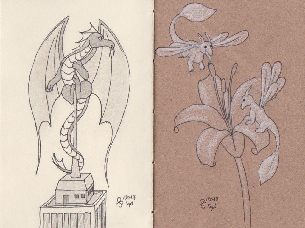 Dragon booklet - WIP