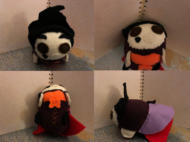 Most recent image: Hocus Pocus Mary Sanderson Smedium Stacking Plush For Sale