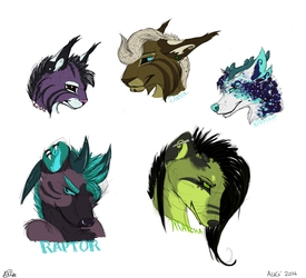Sketchy heads