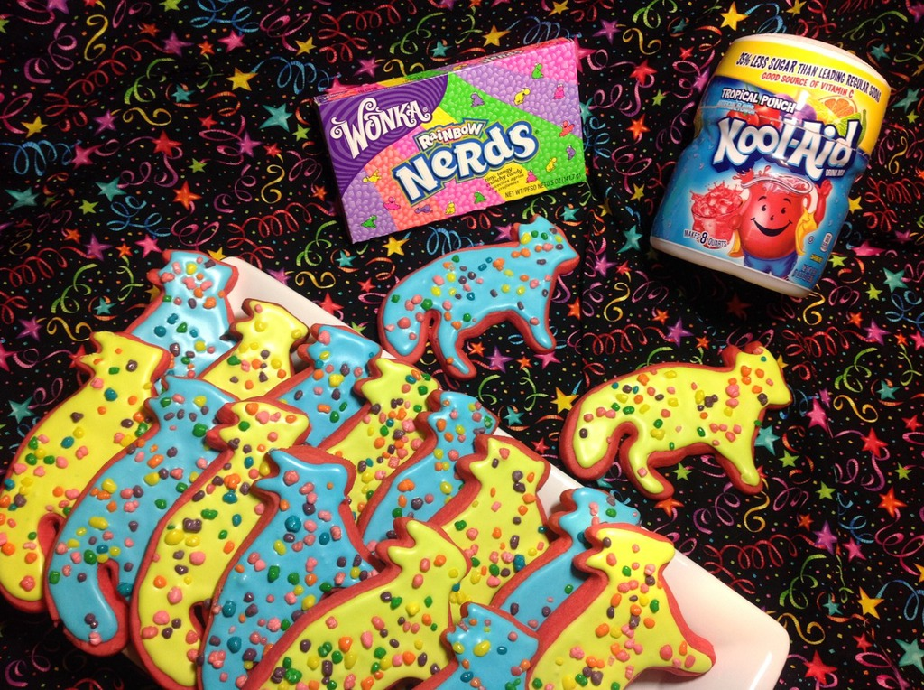 Totally 80s Fox Cookies